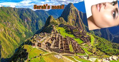 Machu Picchu: :nose::pray::earth_americas: