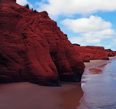 Red Beach :ping_pong: